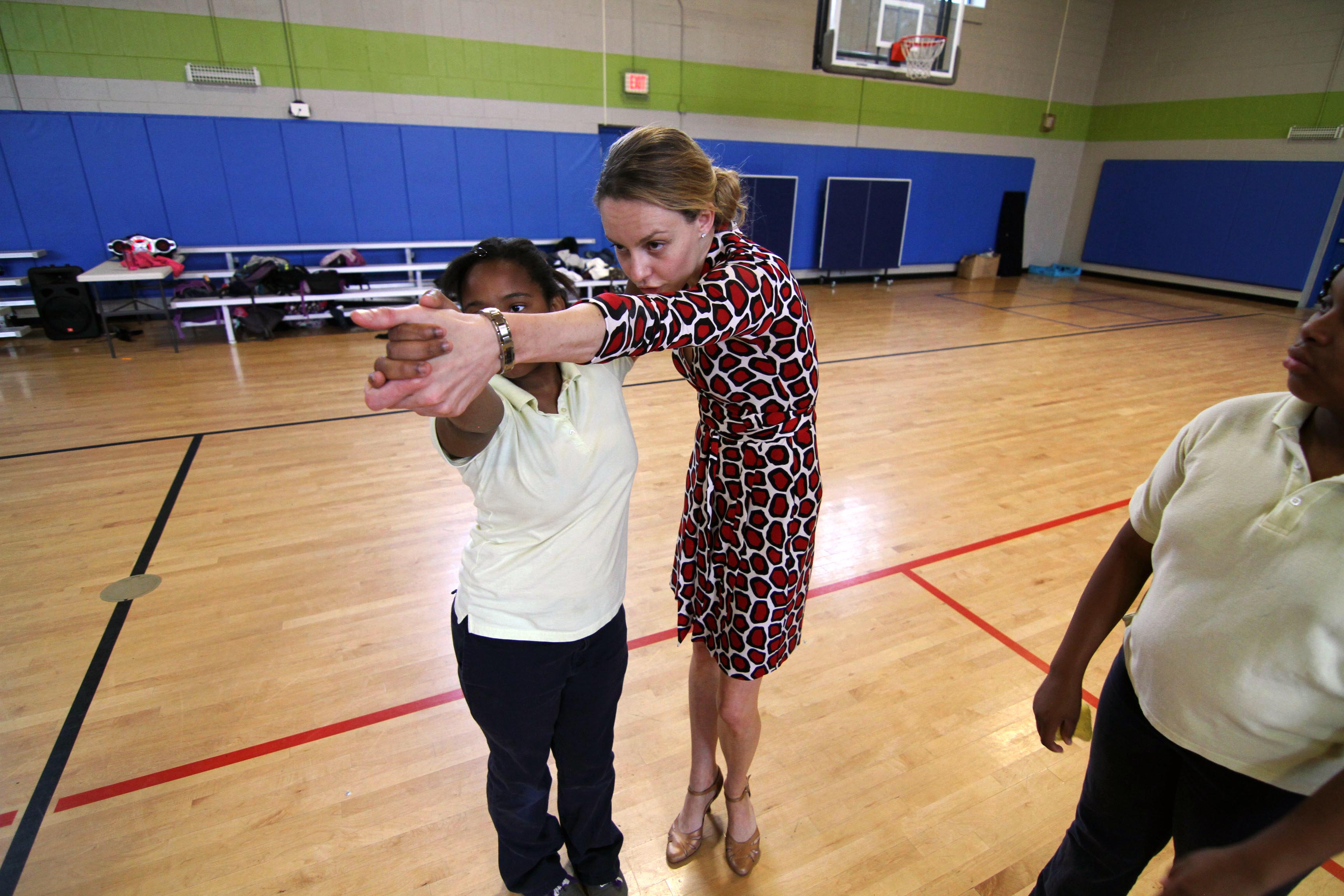 Orchard Gardens Students Learn How To Waltz Patrick D Rosso